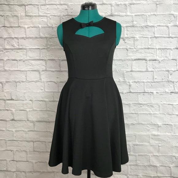 Banned Apparel Dresses Pin Up Retro Black Dress Poshmark
